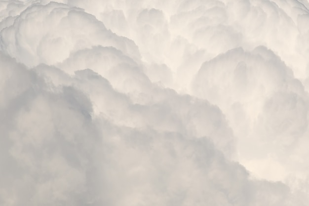 Nuvem cinza branca grande nuvem de fundo