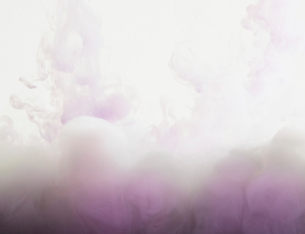 Nuvem cinza densa abstrata de neblina