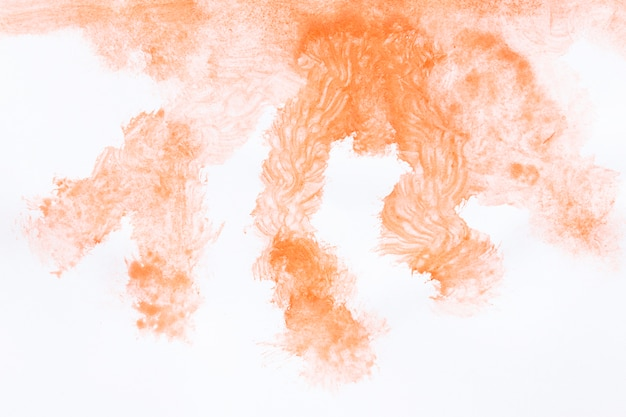 Nuvem de fumaça aquarela abstrata