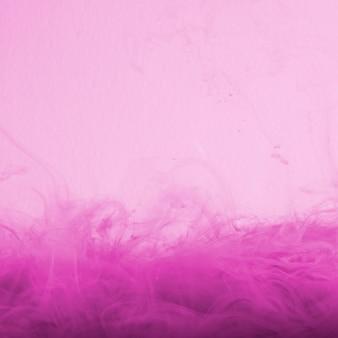 Nuvem de rosa abstrata de neblina na cor rosa