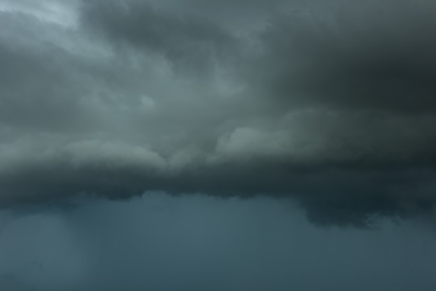 Nuvem de tempestade de perigo