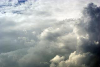 Nuvens ameaçadoras