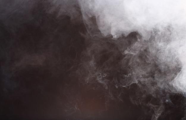 Nuvens de fumaça abstrata, todo o movimento turva fundo, intenção fora de foco