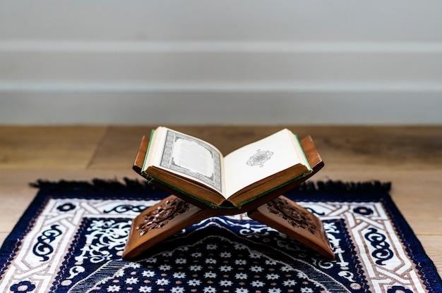 O alcorão, o texto religioso central do islã