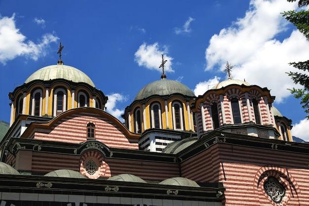 O antigo mosteiro de rila na bulgária
