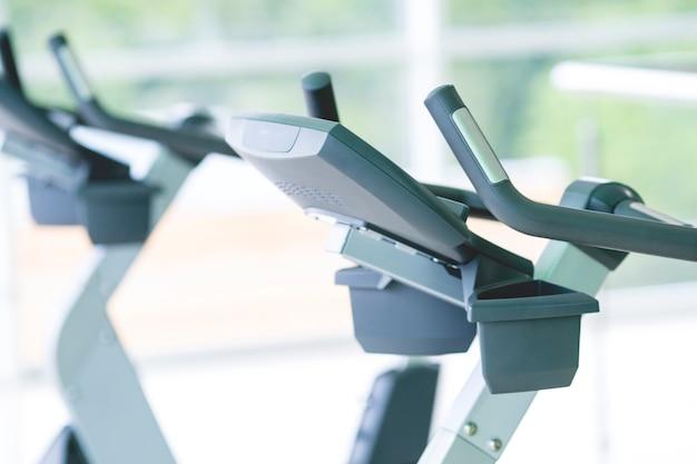 O aparelho cardiovascular no ginásio moderno