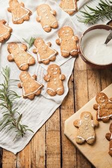 O biscoito de açúcar caseiro engraçado