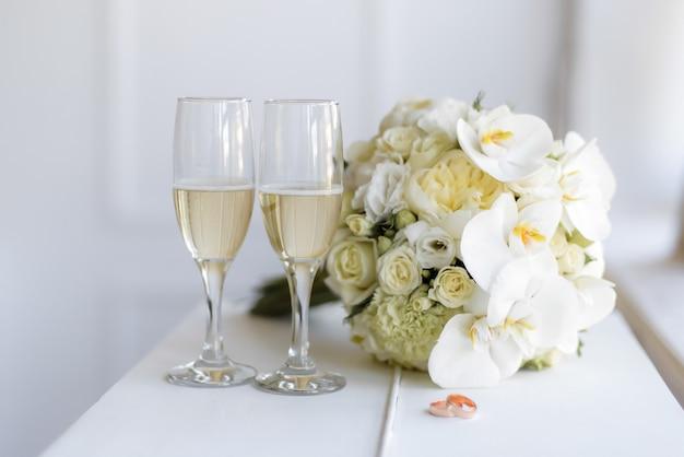 O buquê da noiva
