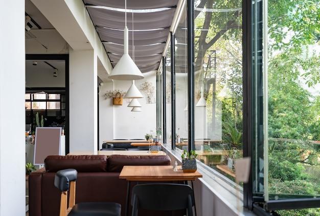 O café no jardim fica no hotel resort