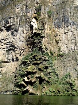 O canyon sumidero no méxico
