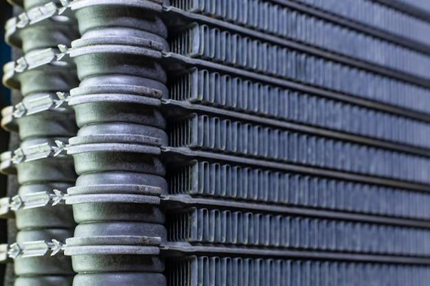 O carro de ar condicionado bobinas