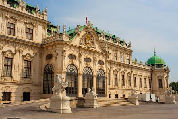 O, castelo belvedere, edifício histórico, complexo, viena