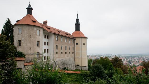 O castelo de skofja loka