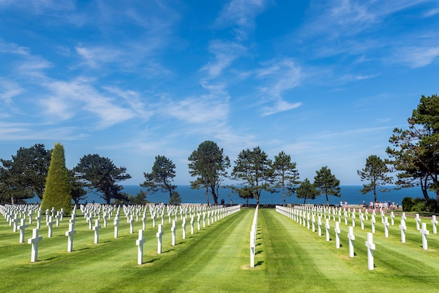 O cemitério de desembarque
