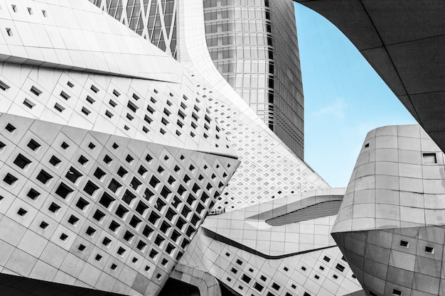 O centro cultural da juventude internacional de nanjing em nanjing, china