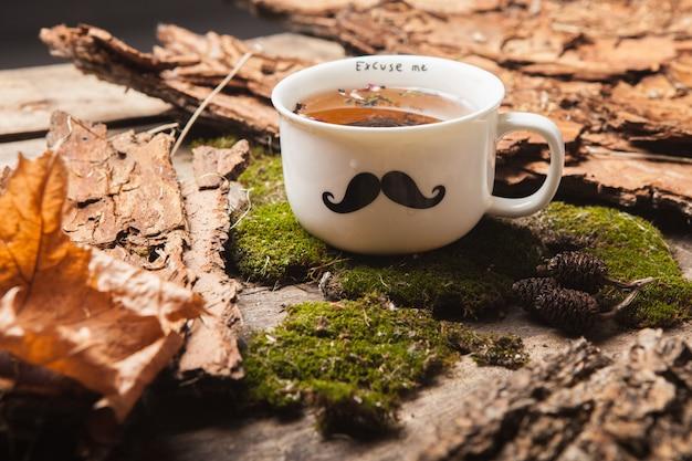 O chá de ervas