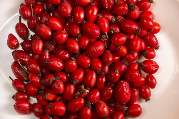 O chá de rosa mosqueta é rico em vitaminas e é usado como restaurador