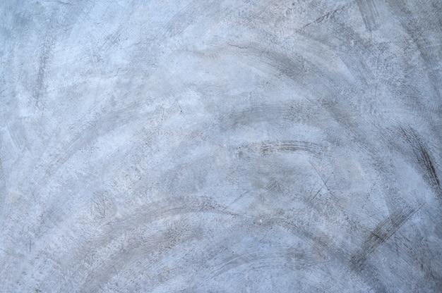 O chão de cimento cinza