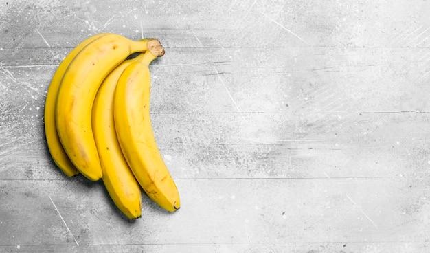 O cheiro de banana fresca.