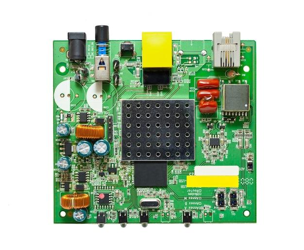 O circuito de um modem adsl isolado