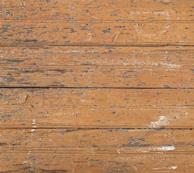 O close-up velho textura pintada de tábuas de madeira.