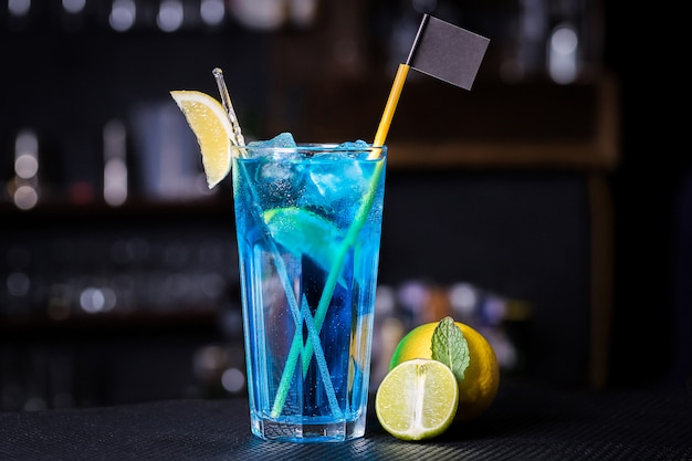 O cocktail lagoa azul