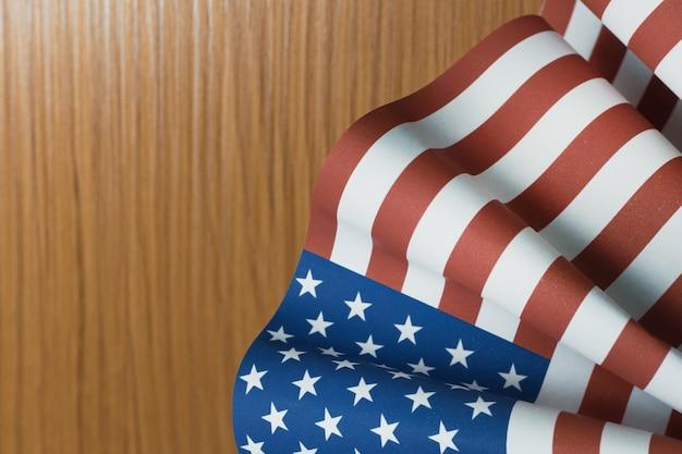 O conceito de dia dos veteranos estados unidos da bandeira da américa