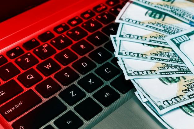 O conceito de fraude na internet, hackeamento de sistemas de pagamento, hackeamento de carteiras eletrônicas.