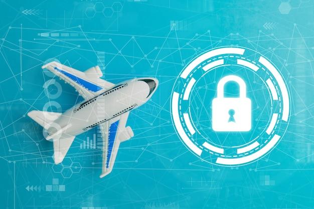 O conceito de parar voos e diminuir as vendas de passagens.