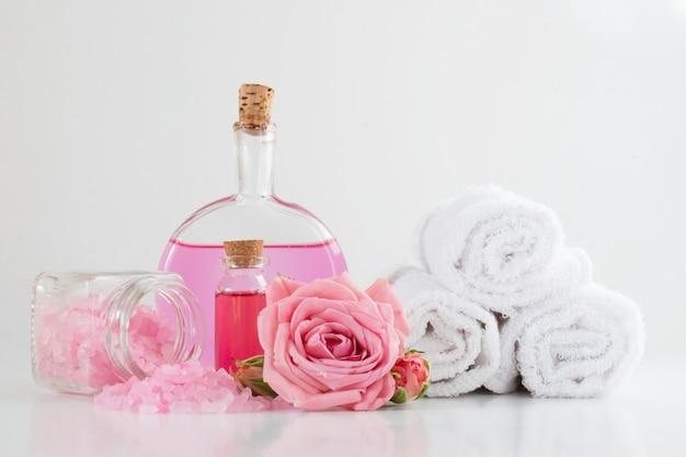 O conceito de tratamentos e massagens de spa