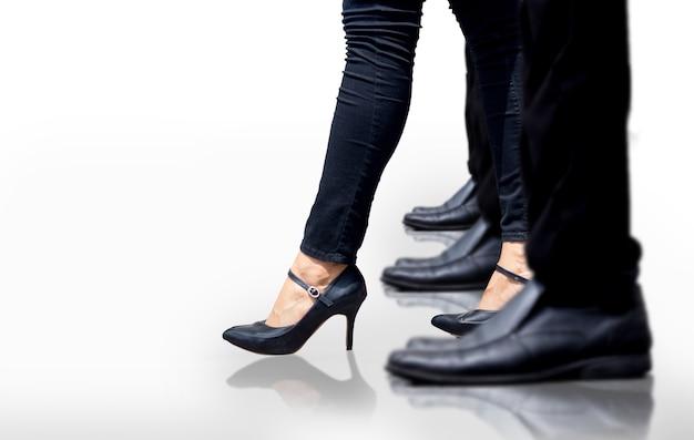 O conceito líder feminino aumenta