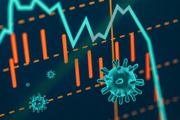O coronavírus afunda nas bolsas de valores globais