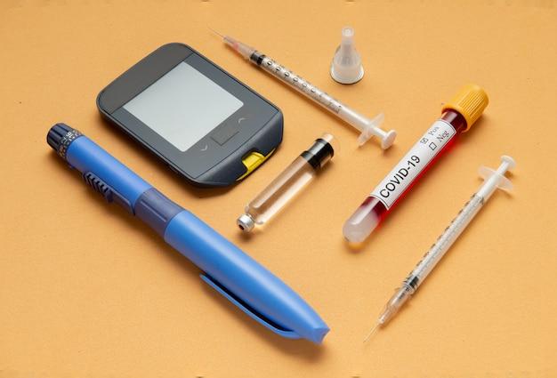 O coronavírus apresenta maior risco de diabetes.