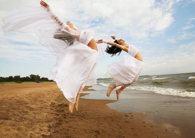 O dia de verão voador