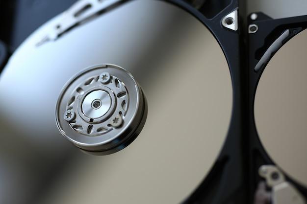 O disco rígido do computador ou laptop está no