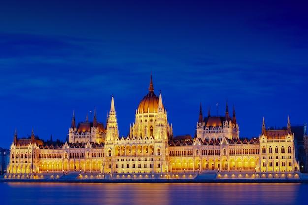 O edifício do parlamento húngaro