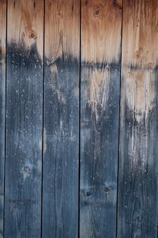 O elemento de madeira da cerca