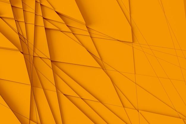 O fundo da superfície é calculado por linhas retas em diferentes formas geométricas