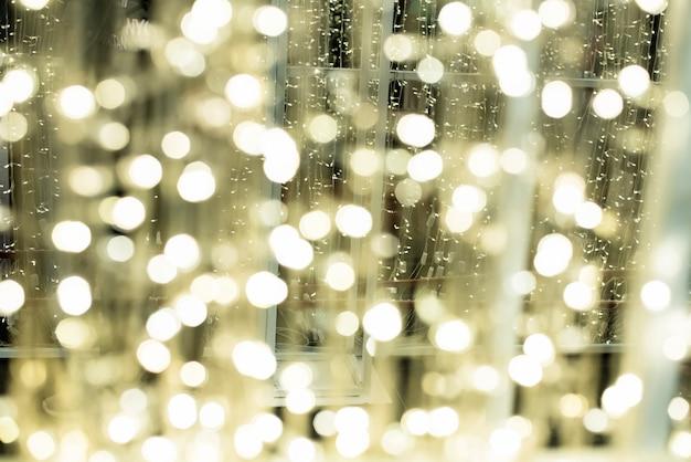 O fundo desfocado luz de design de luz bokeh