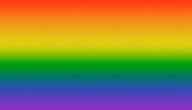 O fundo do arco-íris simboliza lgbt
