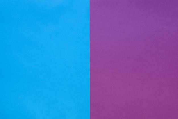 O fundo do papel é azul e roxo. estilo simples. cor da moda.