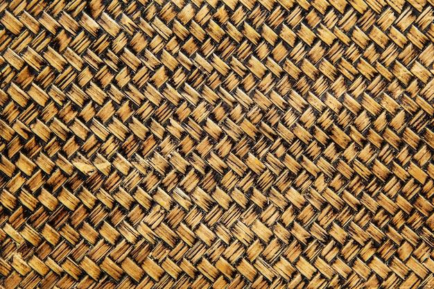 O fundo e o papel de parede do teste padrão tradicional do handcraft tecem velho.