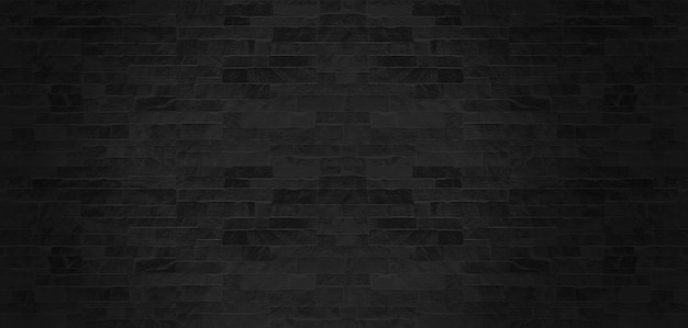 O fundo preto da textura do teste padrão da parede de pedra.