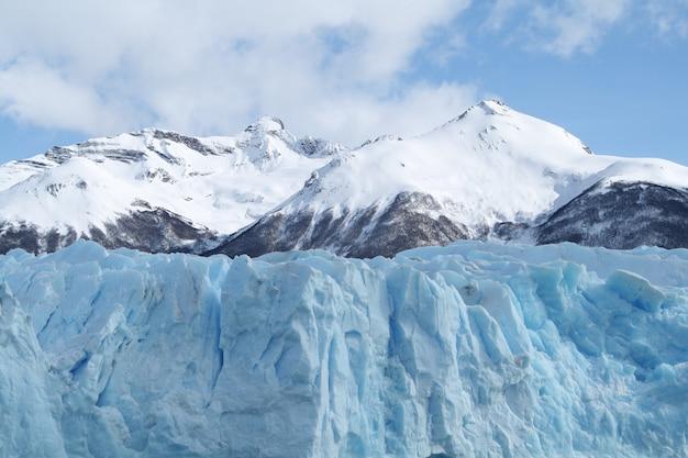 O glaciar perito moreno é um glaciar localizado no parque nacional los glaciares na província de santa cruz argentina patagônia