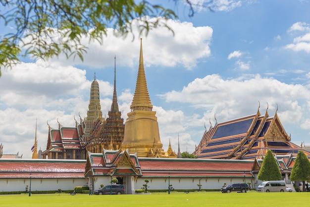 O grande palácio de bangkok na tailândia