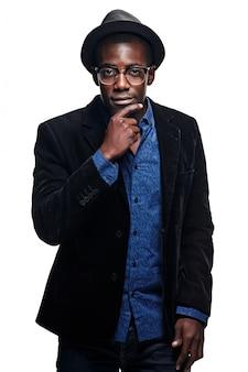 O homem negro pensante