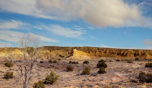 O início da estação das monções no deserto do arizona