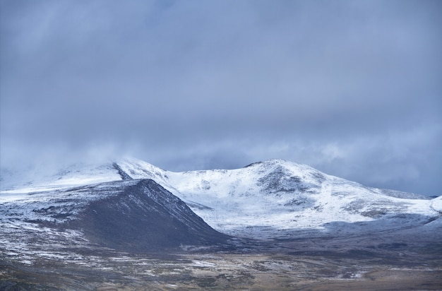 O inverno chegou ao estepe siberiano