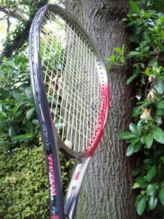 O jogo de tênis, grafite