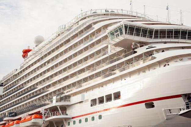 O mais novo navio de cruzeiro do carnaval